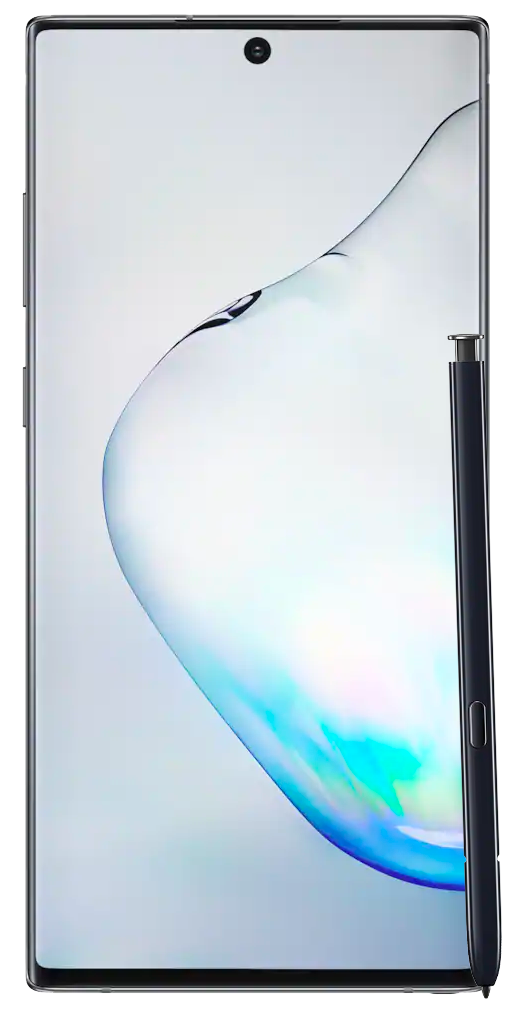 Galaxy Note 10 front