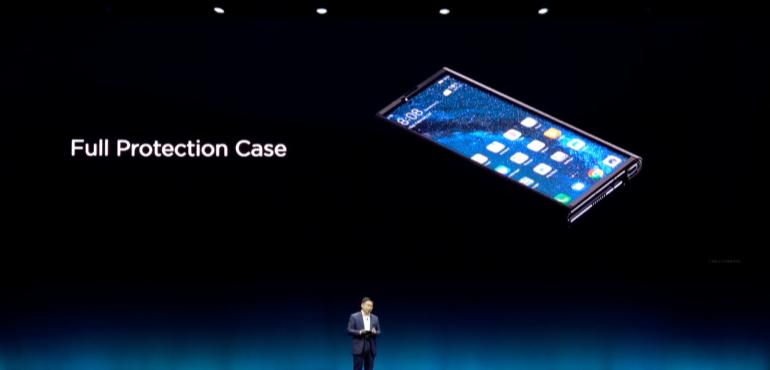Huawei Mate X protection case launch hero size
