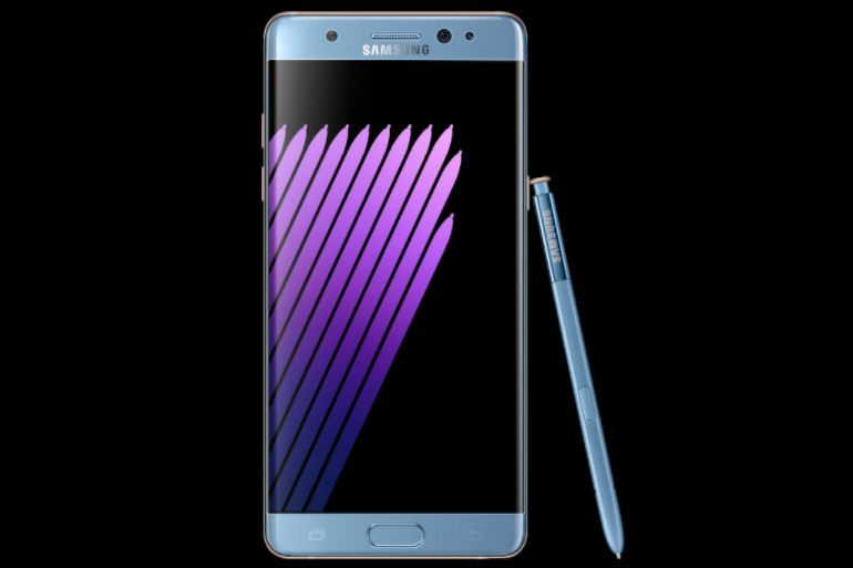Samsung Galaxy Note 7 silver