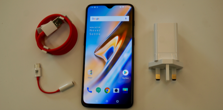 OnePlus 6T unboxed