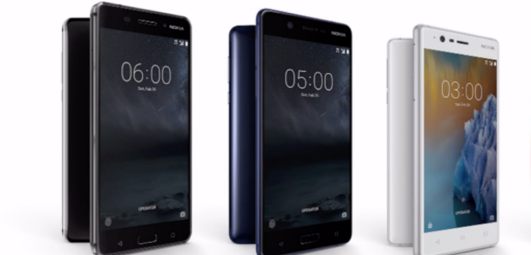 Nokia 6, 5 and 3 hero