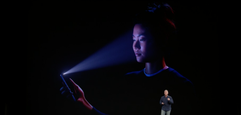 iPhone X face detect security