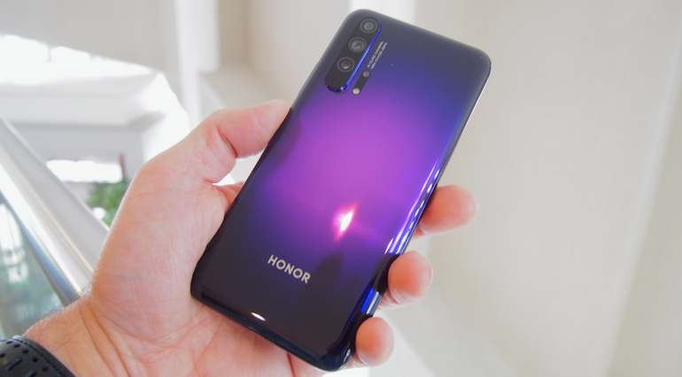 Honor 20 Pro purple hero 3
