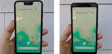Google Pixel 3 XL to get notch-hiding option