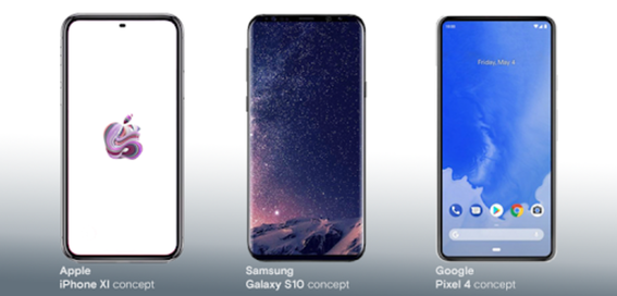 Top 10 phones to look forward to in 2019