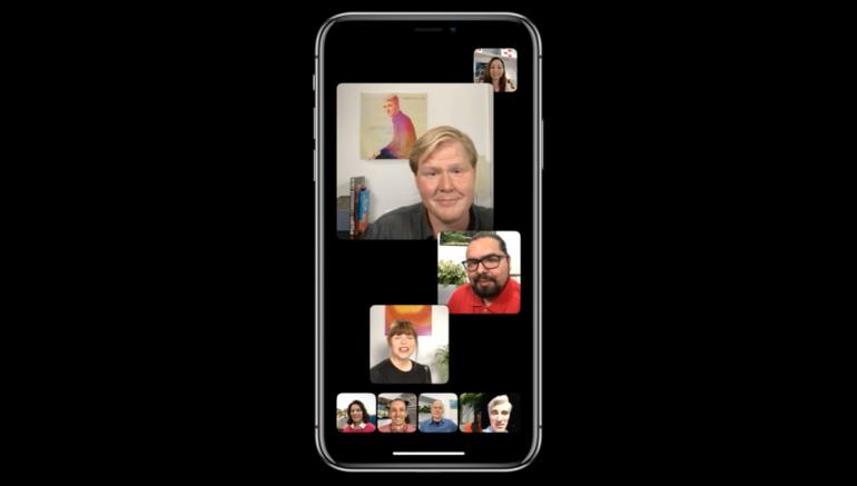 iOS 12 facetime