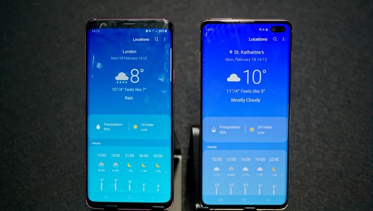 Samsung Galaxy S10 vs S9: what's the difference?