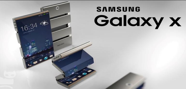 Samsung Galaxy X concept hero