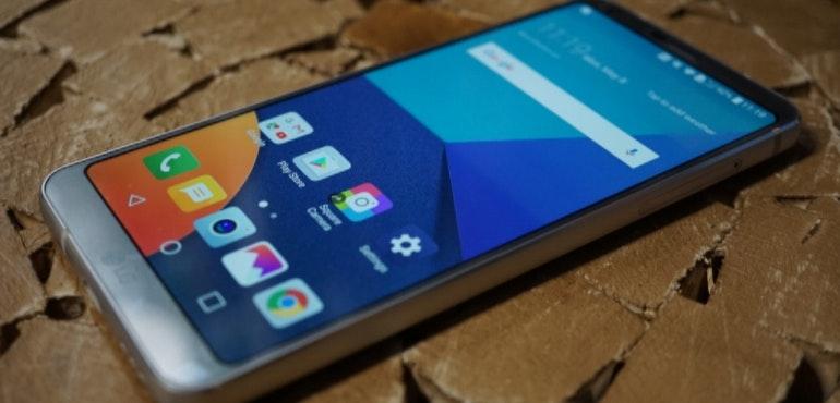LG G6 hero image