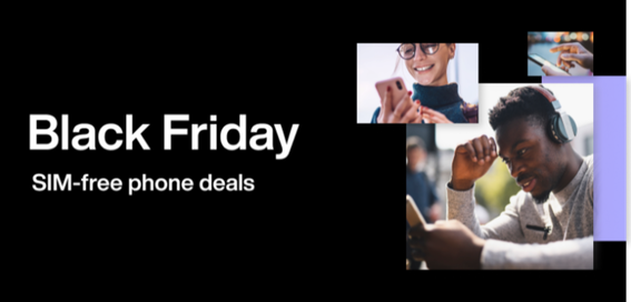 Black Friday SIM-free phone deals
