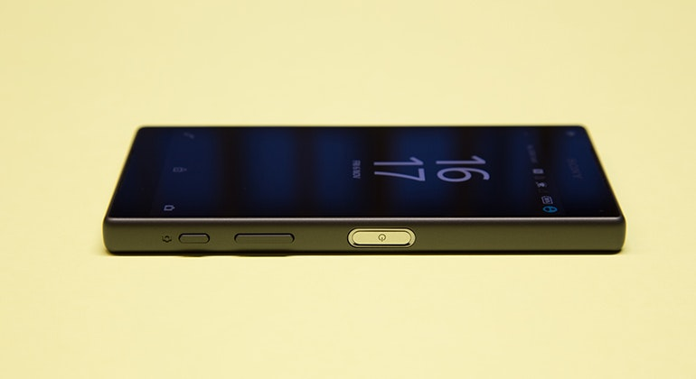 sony xperia z5 side