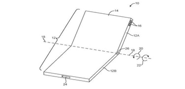 Apple has patented a foldable iPhone