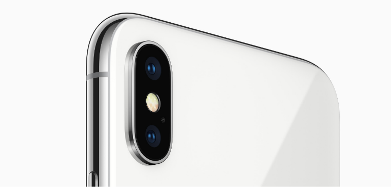 iPhone X dual lens camera hero size