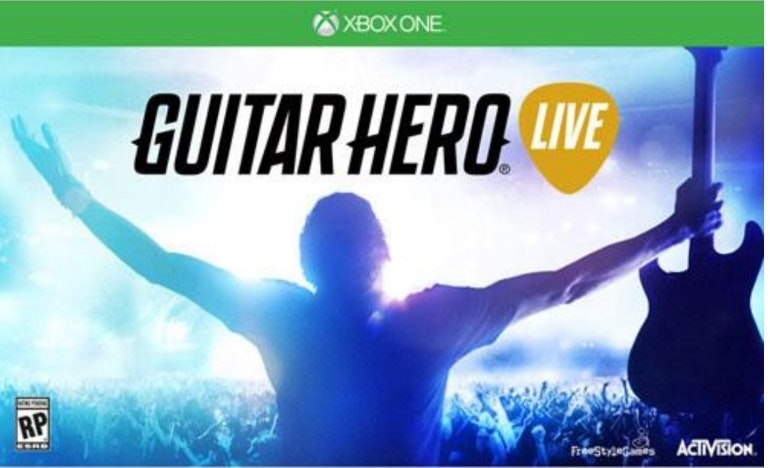 xbox one guitar hero