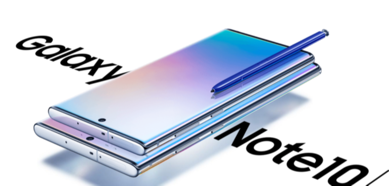 Samsung Galaxy Note 10 hero image