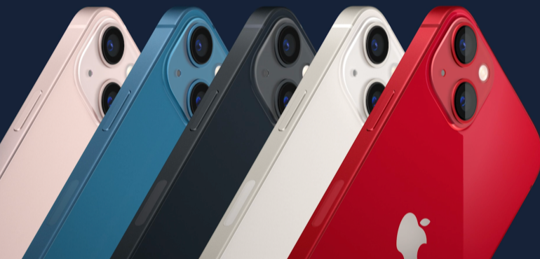 iPhone 13 all colours hero image