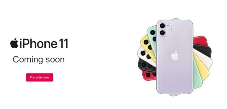iPhone 11 coming soon (hero)