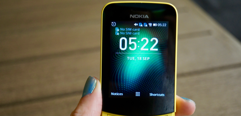 Nokia 8110 homescreen hero size
