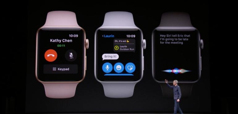 Apple Watch series 3 receiving calls