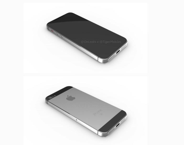 onleaks iPhone SE render 2
