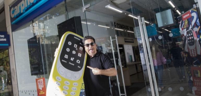 Dom Joly Nokia 3310