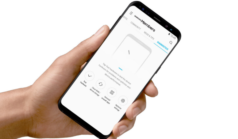 Samsung Members app