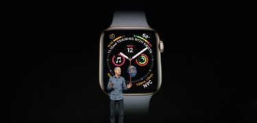 Apple Watch Series 4 unveiled with larger face and improved health tracking