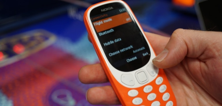 Nokia 3310 new menu options hero image