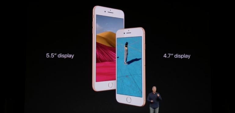 iPhone 8 and 8 Plus comparison hero image