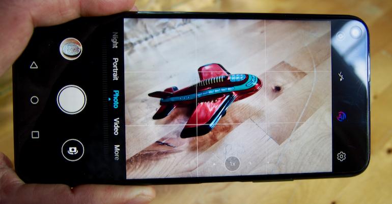 Honor 20 Pro camera interface