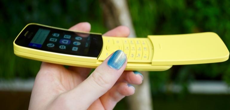Nokia 8110 in-hand slider hero size