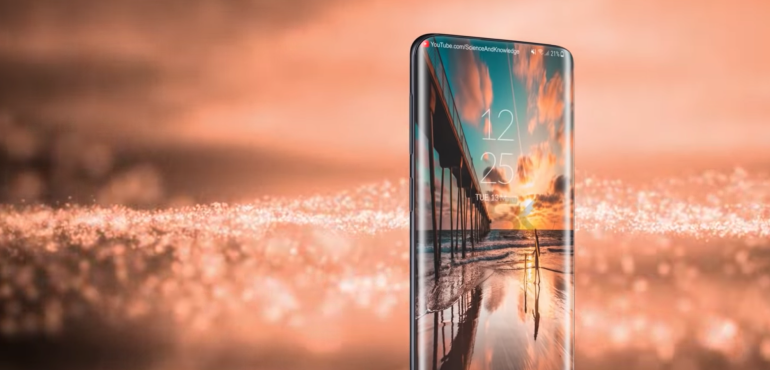 Samsung Galaxy S10 concept full screen hero size