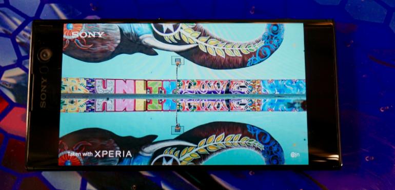 Sony Xperia XA2 image screen hero size