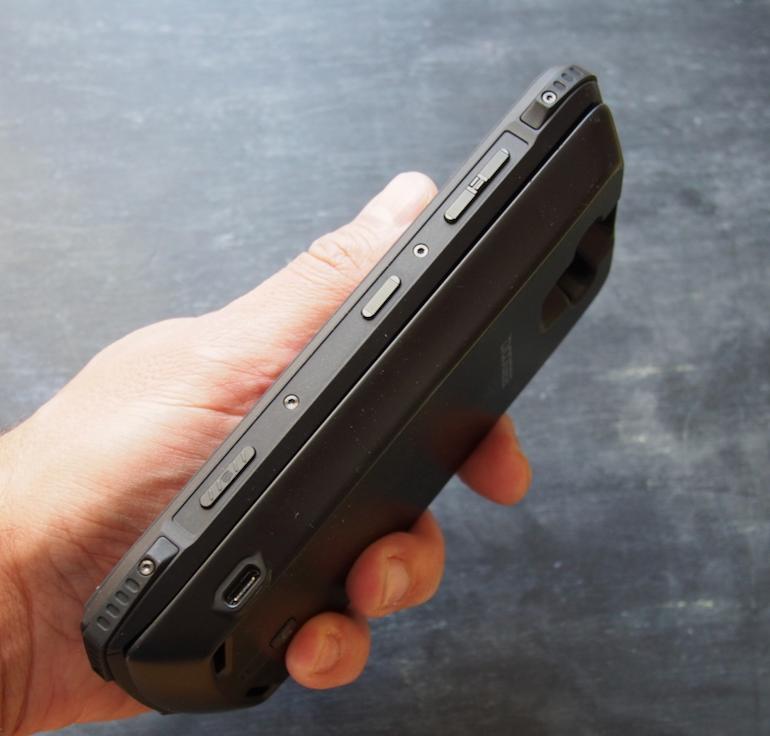 Doogee S90 battery module side