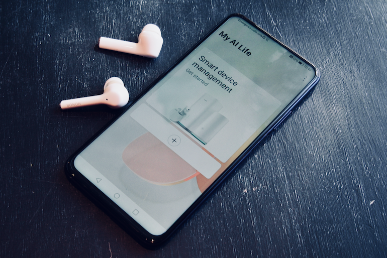 Honor Magic Earbuds Huawei AI life app