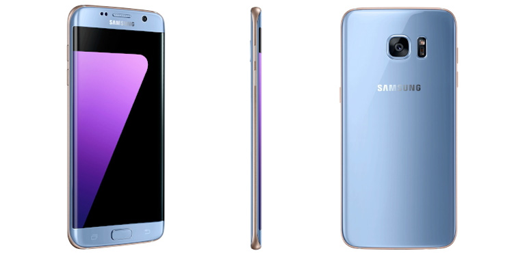 Samsung Galaxy S7 gets new, coral blue colourway