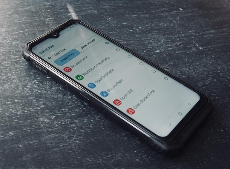 Doogee S95 Pro shortcuts