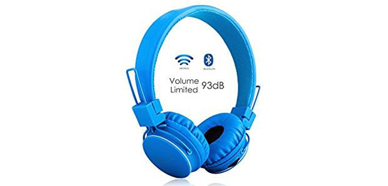 Volume limited kids headphones