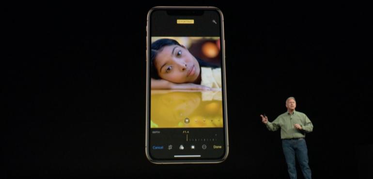iPhone XS camera true depth