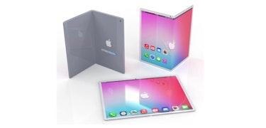 Folding iPad imagined as Samsung rumoured to send Apple folding screens