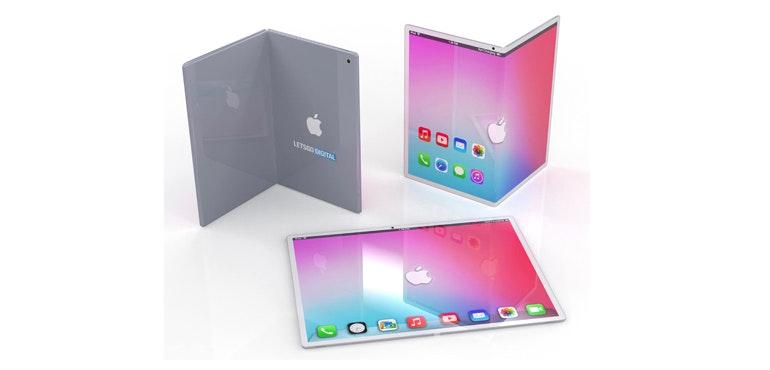 Folding iPad render
