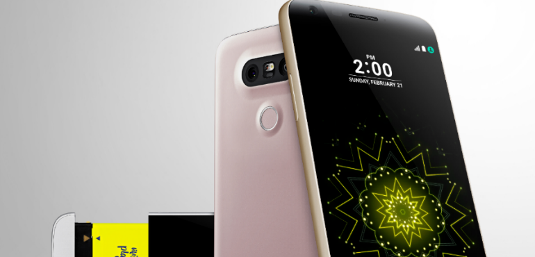 LG G5 hands on video