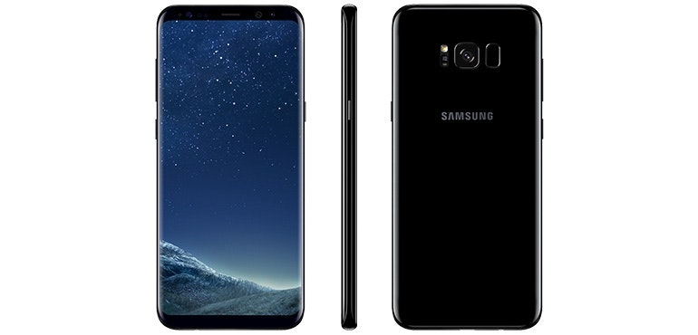 Samsung Galaxy S8 stock image hero