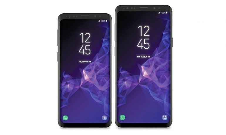 Samsung Galaxy S9 evleaks resized