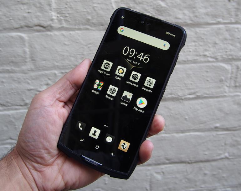 Doogee S90 screen