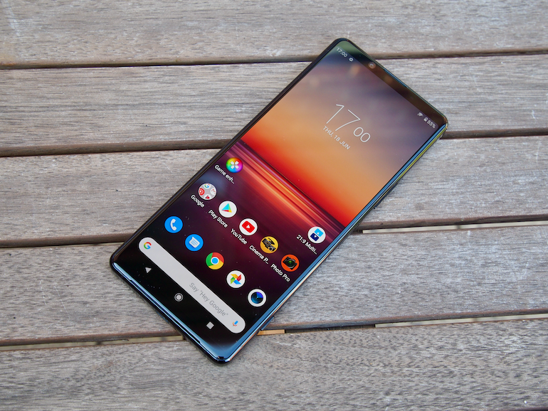 Sony Xperia 1 II screen 2