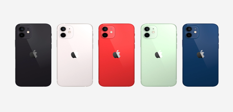 iPhone 12 all colours