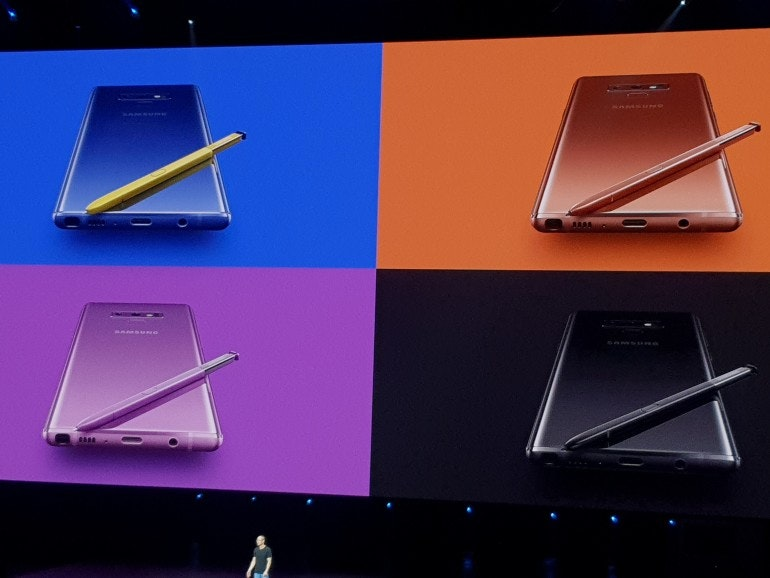 Image result for note 9 colours