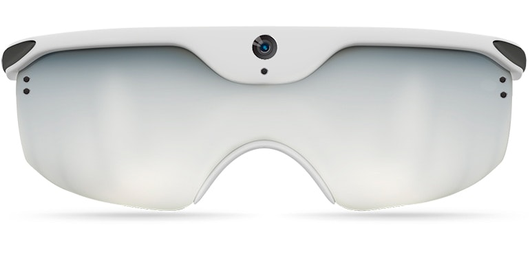 Apple AR glasses mock-up