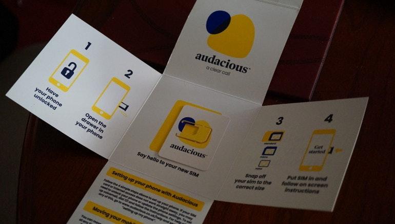 Audacious SIM leaflet